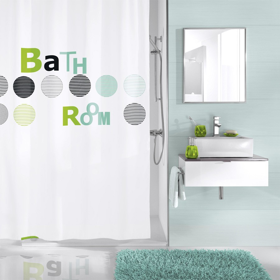 fehr badshop duschvorhang kleine wolke bathroom. Black Bedroom Furniture Sets. Home Design Ideas