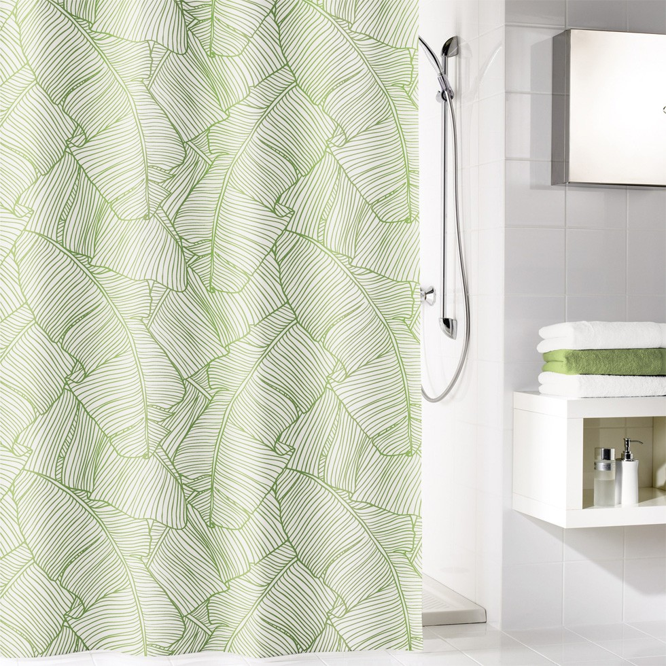 fehr badshop duschvorhang kleine wolke jungle textil. Black Bedroom Furniture Sets. Home Design Ideas