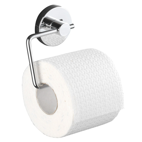 fehr badshop wc papierhalter wenko milazzo vacuum loc befestigung ohne bohren. Black Bedroom Furniture Sets. Home Design Ideas