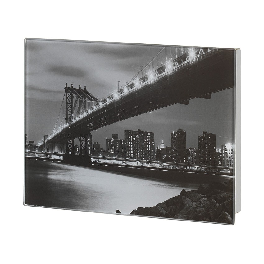 fehr badshop schl sselkasten wenko manhattan bridge magnetisch. Black Bedroom Furniture Sets. Home Design Ideas