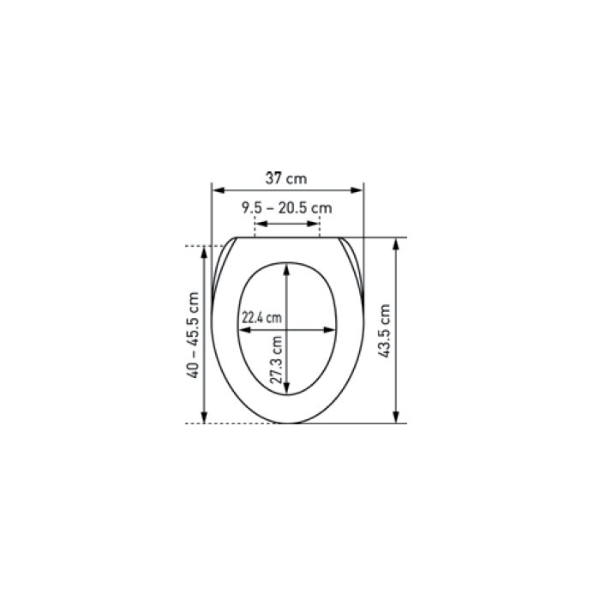 Super fehr-badshop - WC-Sitz mit Holzkern FSC mix KAN EXCLUSIVE YK38