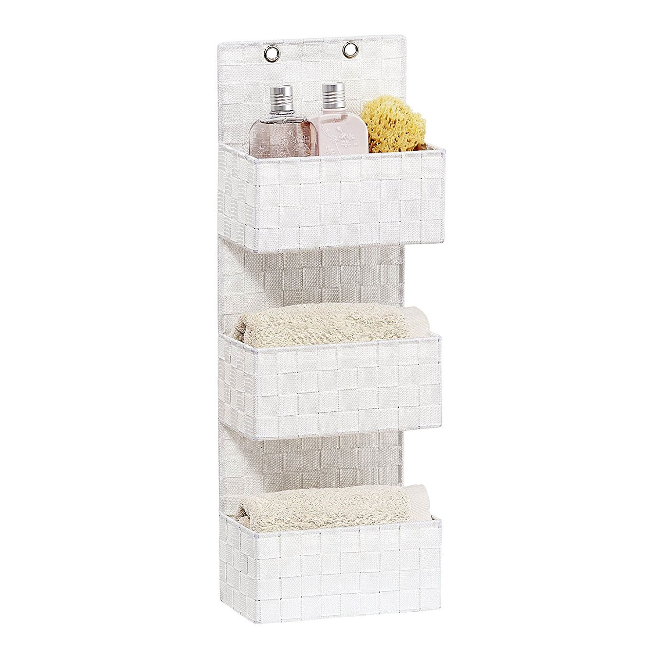 fehr badshop organizer wenko adria zum h ngen mit 3 etagen. Black Bedroom Furniture Sets. Home Design Ideas
